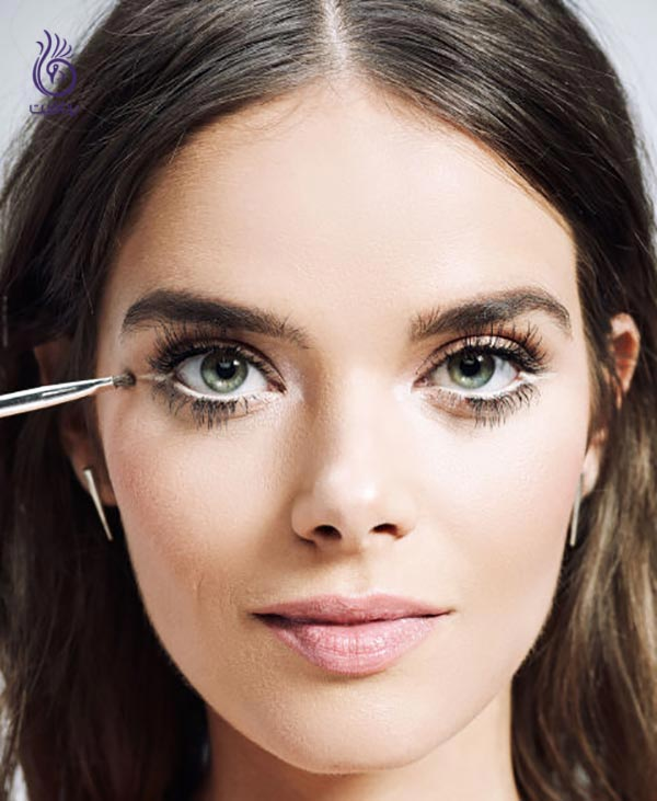 ترفندهای آرایشی برای درشت نشان دادن چشم ها - برنافیت