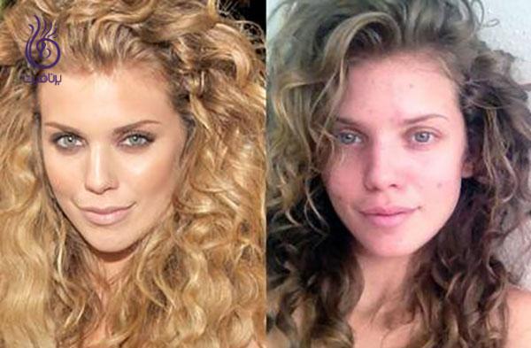 چهره بدون آرایش - آنالین مک کورد - برنافیت