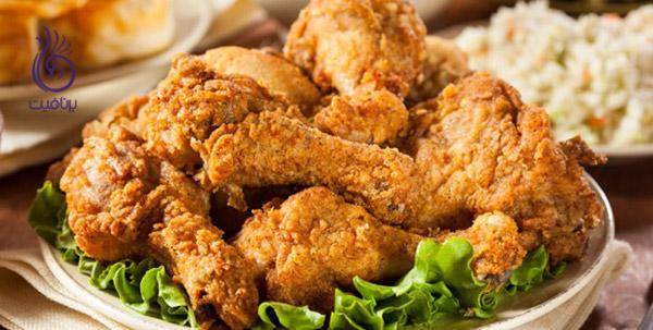 بهترین و بدترین غذاها- غذاهای سرخ شده - برنافیت