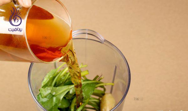سموتی سبز - چای سبز - برنافیت