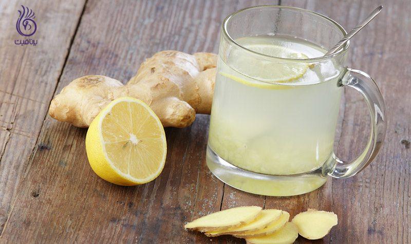 نوشیدنی لیمو زنجبیل عسل - برنافیت