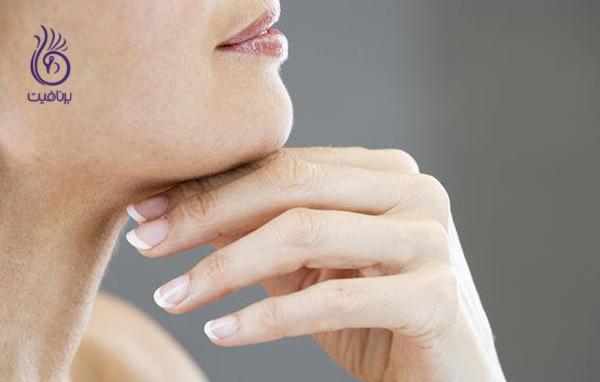 ترفندهای آرایشی - آرایش گردن - برنافیت