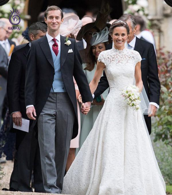 لباس عروس - پیپا میدلتون - برنافیت