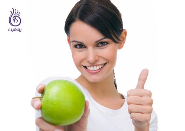 بهترین و بدترین غذاها- سیب - برنافیت