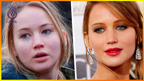 چهره ی بدون آرایش هنر پیشه های معروف