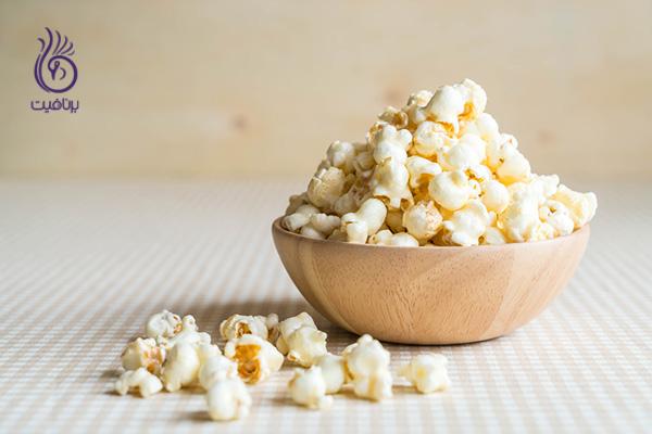 موادغذایی پرکالری - پاپ کورن - برنافیت