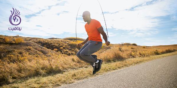 کاهش وزن سریع - طناب زدن - برنافیت