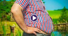 5 عاملی که موجب چاقی شکمی میشود - برنافیت
