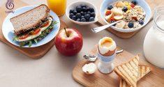 صبحانه های رژیمی برای کاهش وزن - برنافیت