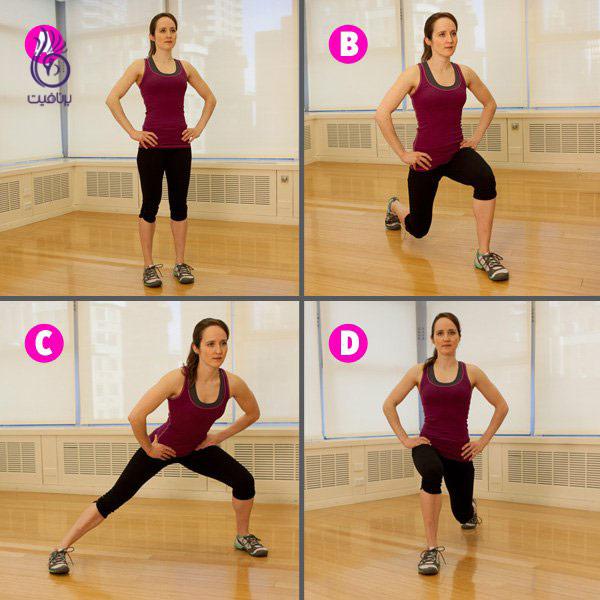 ورزش پایین تنه - حرکت ورزشی - برنافیت