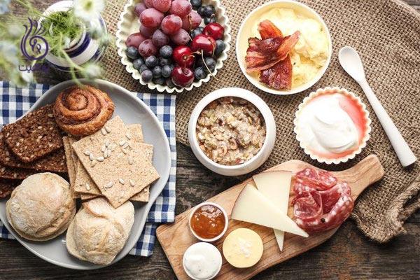 صبحانه - صبحانه کم - برنافیت