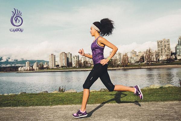 کاهش وزن سریع - دویدن - برنافیت