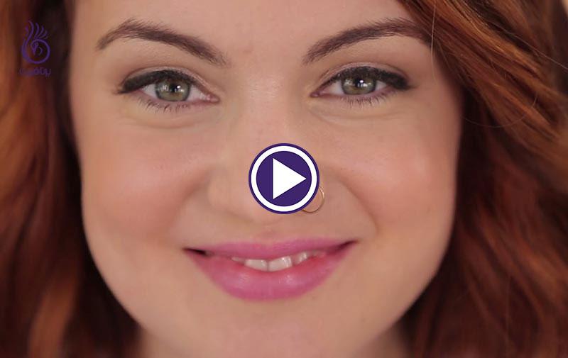 طرز کشیدن خط چشم مایع برای مبتدی ها - برنافیت