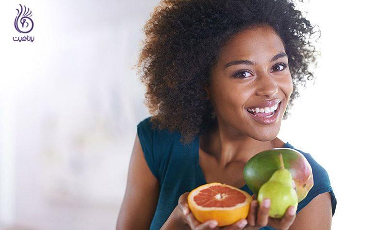 غذاهایی که باعث درخشندگی پوست می شوند - برنافیت