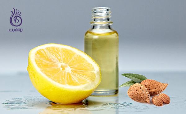 تقویت ناخن - لیمو و روغن بادام - برنافیت