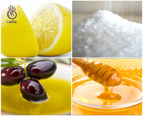 اسکراب - مواد لازم - برنافیت