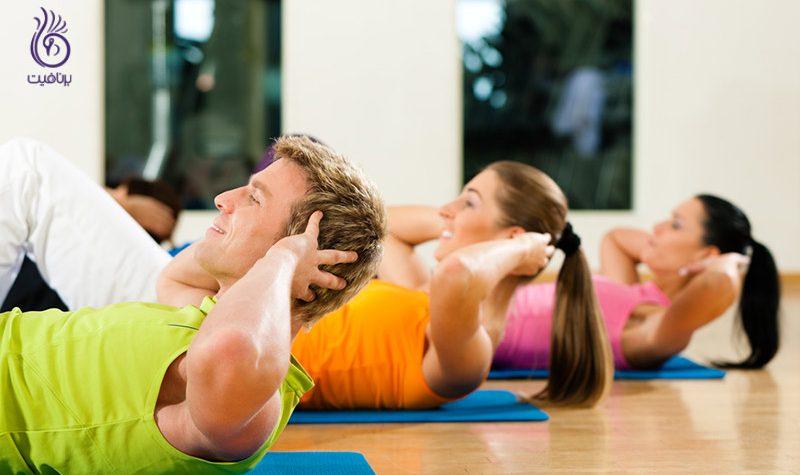 حرکات ورزشی برای داشتن شکم تخت - برنافیت