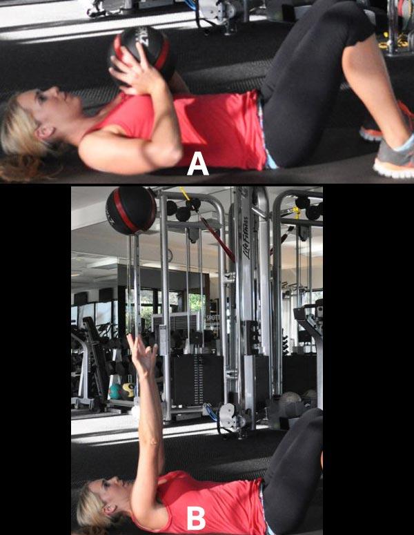 6 حرکت ورزشی برای خوش فرم کردن سینه - برنافیت