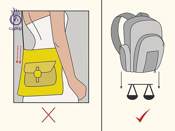 راهکارهایی برای پیشگیری از قوز کمر - برنافیت