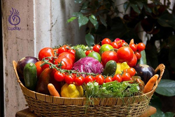 با این غذاها، به جنگ چربی های شکمی بروید - سبزیجات - برنافیت