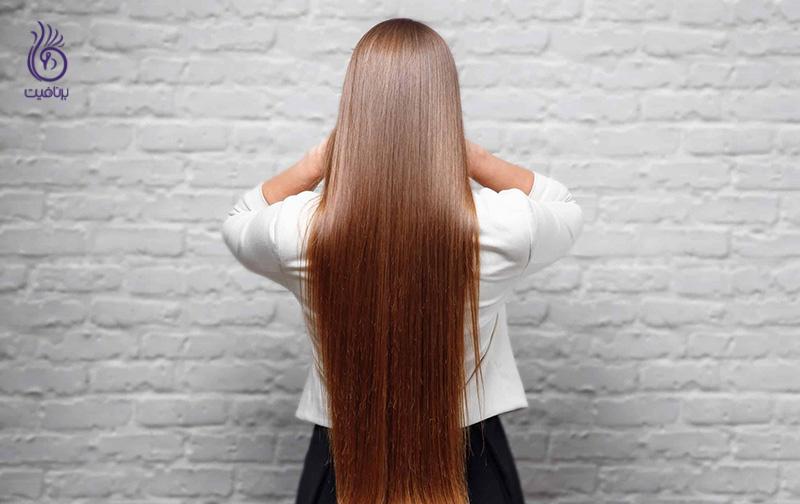 صاف کردن موهای فر