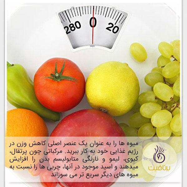 با این غذاها، به جنگ چربی های شکمی بروید - میوه - برنافیت