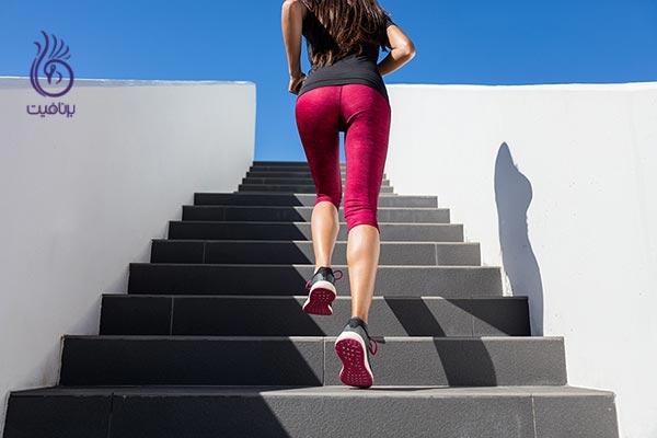 کاهش وزن آسان- بالا رفتن از پله ها- برنافیت