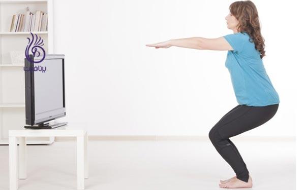 کاهش وزن- ورزش در منزل- برنافیت