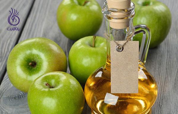درمان شوره سر- سرکه سیب- برنافیت
