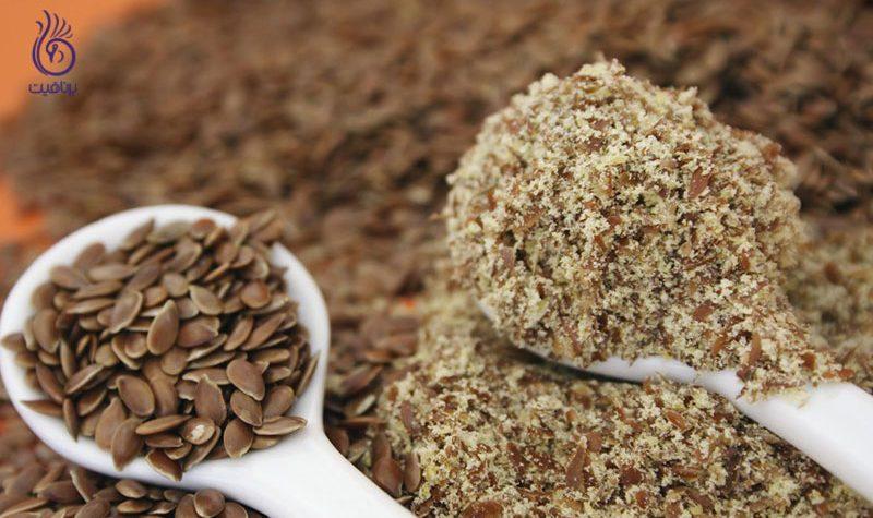 بذر کتان- کاهش وزن- برنافیت