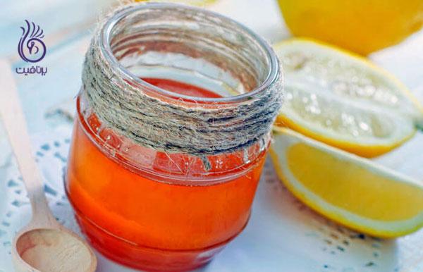 درمان شوره سر- عسل- برنافیت