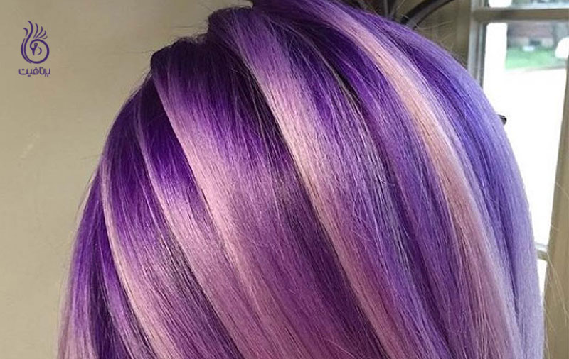 رنگ موهای زمستانه- زیبایی- برنافیت