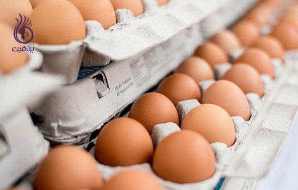 غذاهای رژیمی- تخم مرغ- برنافیت