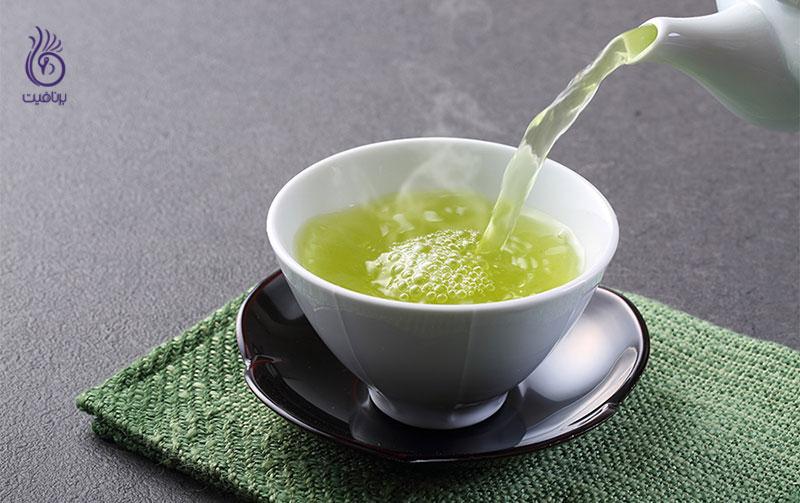 چای سبز- تغذیه- برنافیت