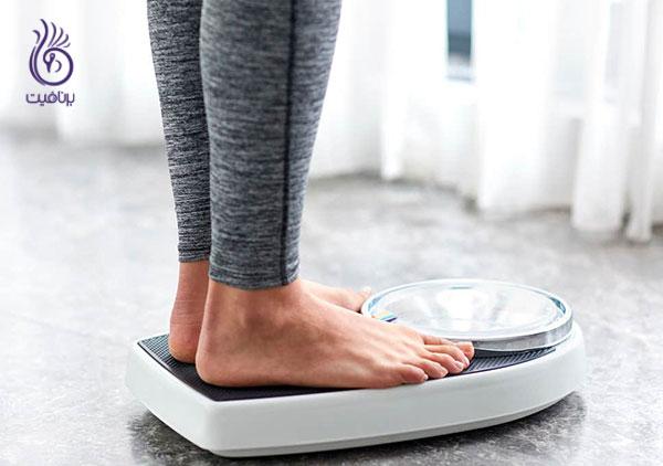 استپ وزن - برنامه غذایی چاقی