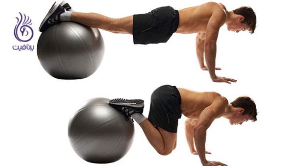 ورزش و تناسب اندام- حرکت ورزشی نی تاکز- برنافیت