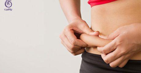 ورزش و تناسب اندام- چربی های زیر شکم- برنافیت