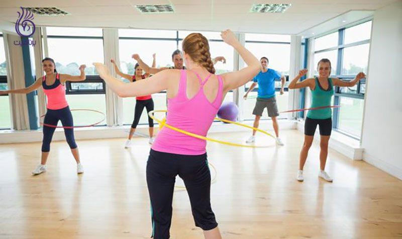 حلقه لاغری- ورزش و تناسب اندام- برنافیت