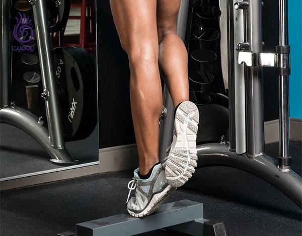 ورزش ساق پاها- ورزش و تناسب اندام- برنافیت
