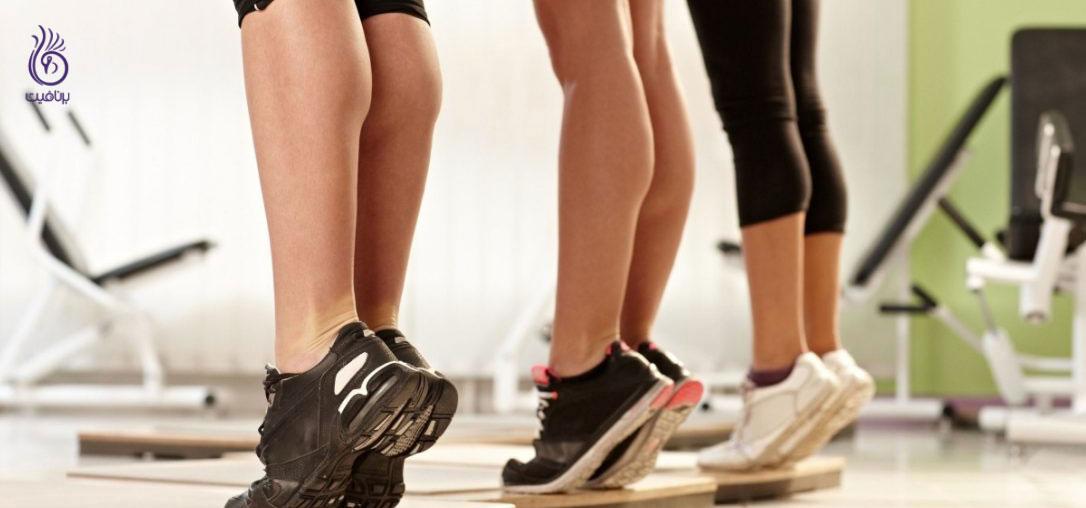 خوش فرم کردن ساق پا