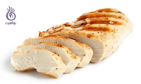 پروتئین- سینه ی مرغ- برنافیت