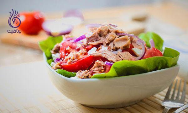 پروتئین- ماهی تن- برنافیت