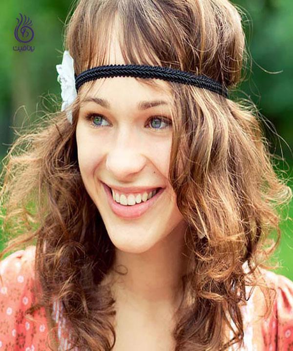 مدل موی هیپی- زیبایی- برنافیت