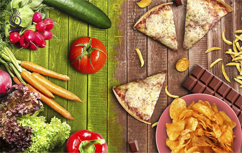 غذاهای به ظاهر ناسالم- تغذیه- برنافیت