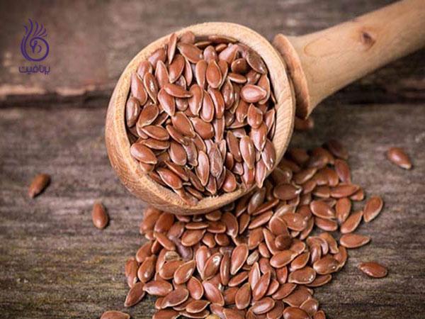 بذر کتان- تغذیه- برنافیت