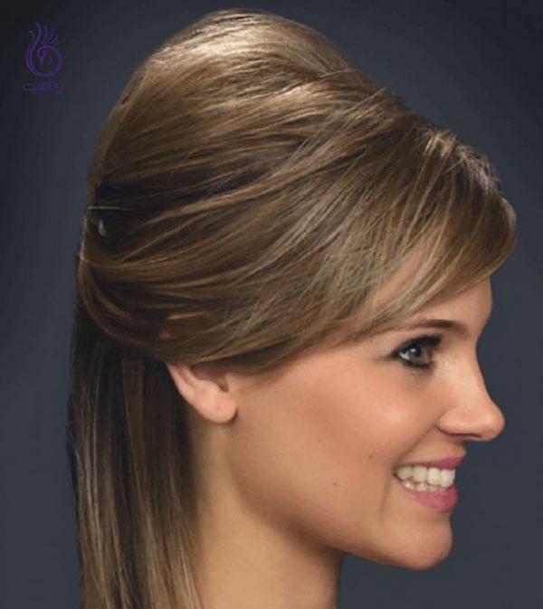 مدل موی پفی- زیبایی- برنافیت
