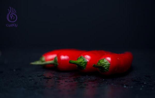 فلفل قرمز- تغذیه- برنافیت