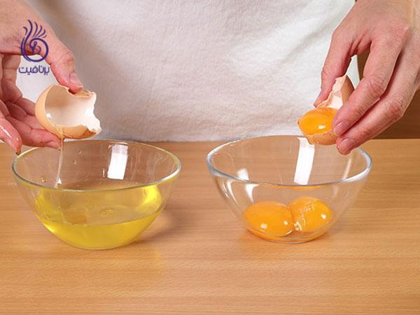 تخم مرغ- زیبایی- برنافیت