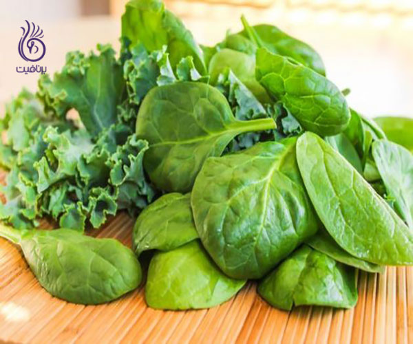 افزایش سایز سینه ها- سبزیجات برگ دار- برنافیت