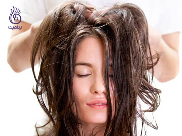 ماساژ موها- زیبایی- برنافیت